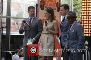 Carson Daly, Al Roker, Natalie Morales and Savannah Guthrie