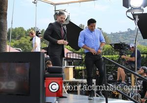 Joe Manganiello and Mario Lopez