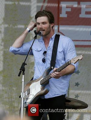 Chris Carmack - Chris Carmack performs at the Belk Park Stage during the 2015 CMA Music Festival at Belk Park...