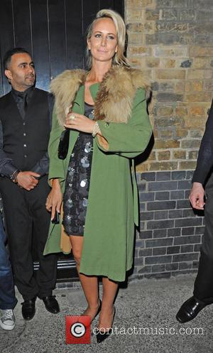 Lady Victoria Hervey - Celebrities leave Chiltern Firehouse - London, United Kingdom - Saturday 13th June 2015