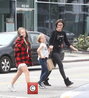Jaimie Alexander, Lola Facinelli and Fiona Facinelli