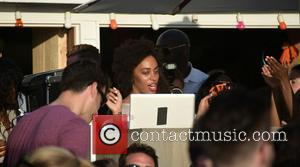 Solange Knowles - Solange Knowles DJ's and Trombone Shorty performs live at The Surf Lodge in Montauk at Surf Lodge...