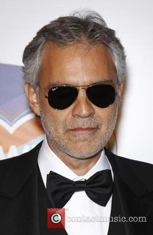 Andrea Bocelli - Keep Memory Alive's 19th Annual Power Of Love Gala at MGM Grand Garden Arena - Las Vegas,...