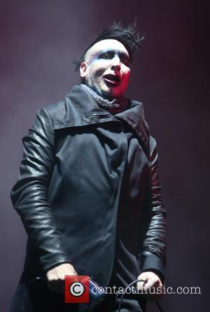 Marilyn Manson - Download Festival - Day 2 - Performances & Atmosphere at Download Festival - Donnington, United Kingdom -...