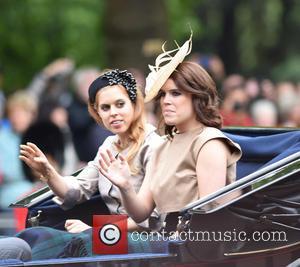 Princess Beatrice and Princess Eugenie Of York
