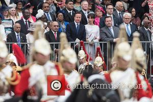 David Cameron and Samantha Cameron - Trooping the Colour, The Queen's Birthday Parade, held on Horse Guard Parade. - London,...