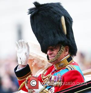 Prince Philip and Duke of Edinburgh - The Queen attends Trooping the Colour, accompanied by other senior Royals, at Horse...
