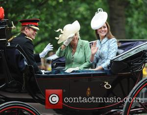 Duchess Of Cambridge, Camilla, Duchess Of Cornwall and Prince Harry