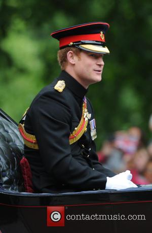 Prince Harry - The Queen attends Trooping the Colour, accompanied by other senior Royals, at Horse Guards Parade - London,...