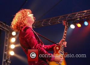 Dan Hawkins - Download day 3 - The Darkness - Maverick Stage - Donnington, United Kingdom - Sunday 14th June...