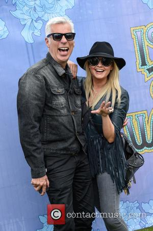 Emma Bunton and John Giddings - Isle of Wight Festival - Day 4 - Celebrity Sightings at Isle of Wight...