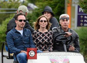 Geri Horner, Christian Horner and Geri Halliwell