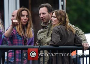 Geri Halliwell, Christian Horner and Mel C