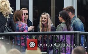 Ronan Keating, Storm Uechtritz, Mel C and Melanie Chisholm