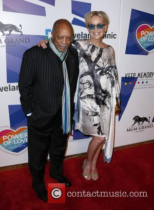 Quincy Jones and Sharon Stone - Keep Memory Alive's 19th Annual