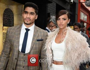 Louis Smith and Lucy Mecklenburgh
