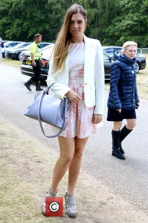 Amber Le Bon - The Cartier Queen's Cup 2015 Polo Finals at Windsor Great Park - London, United Kingdom -...