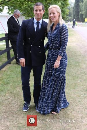 Bear Grylls and Shara Grylls - The Cartier Queen's Cup 2015 Polo Finals at Windsor Great Park - London, United...