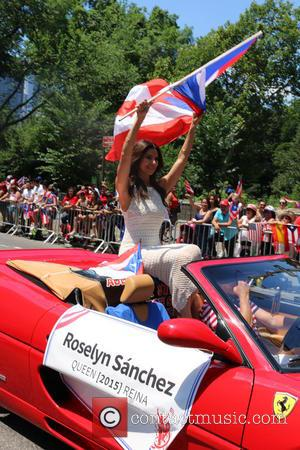 Actress Roselyn Sanchez - Puerto Rican Day Parade 2015 at Puerto Rican Day Parade - New York City, New York,...