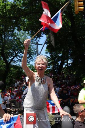 Rita Moreno - Puerto Rican Day Parade 2015 at Puerto Rican Day Parade - New York City, New York, United...
