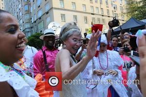Rita Moreno Leads Puerto Rican Day Parade