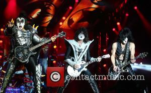 Gene Simmons, Tommy Thayer and Paul Stanley