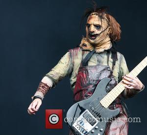 Devin Sola - Download Festival day 2 - Motionless in White - Encore Stage at Download Festival - Donnington, United...