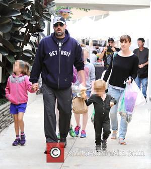 Ben Affleck, Jennifer Garner, Seraphina Affleck and Samuel Garner Affleck