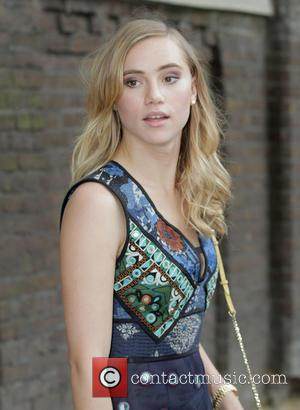 Suki Waterhouse - Burberry Prorsum London Collections Men SS16. at KensingtonGardens - London, United Kingdom - Monday 15th June 2015