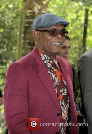Samuel L Jackson - Burberry Prorsum London Collections Men SS16. at KensingtonGardens - London, United Kingdom - Monday 15th June...