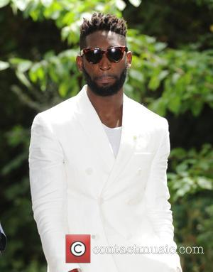 Tinie Tempah - Burberry Prorsum fashion show London Collection Men Spring Summer 2016 - London, United Kingdom - Monday 15th...