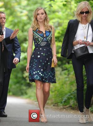 Suki Waterhouse - Burberry Prorsum fashion show London Collection Men Spring Summer 2016 - London, United Kingdom - Monday 15th...