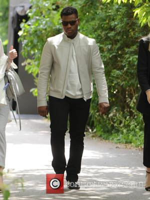 John Boyega - Burberry Prorsum fashion show London Collection Men Spring Summer 2016 - London, United Kingdom - Monday 15th...