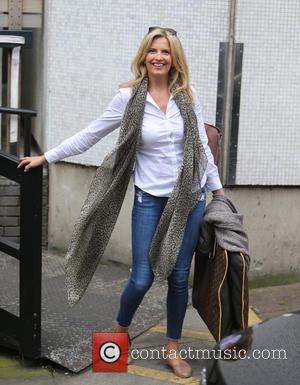 Penny Lancaster - Penny Lancaster outside ITV Studios - London, United Kingdom - Monday 15th June 2015