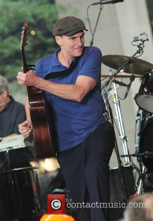 James Taylor - James Taylor performs on the 'Today' show summer concert series - New York City, New York, United...