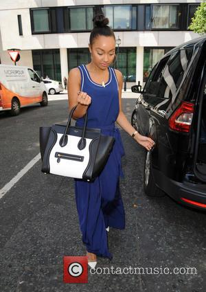 Leigh Anne Pinnock - Little Mix arrive at BBC Radio 2 - London, United Kingdom - Monday 15th June 2015