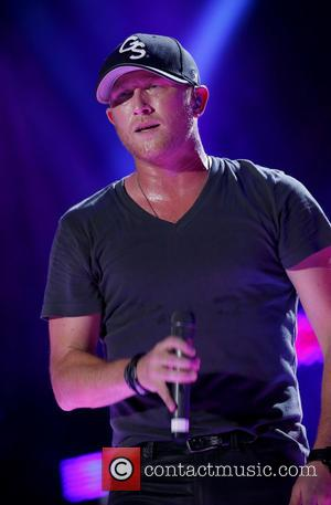 Cole Swindell Sporting Black Eye