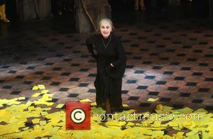 Chita Rivera - Closing night curtain Call for the Broadway musical The Visit at the Lyceum Theatre. at Lyceum Theatre,,...