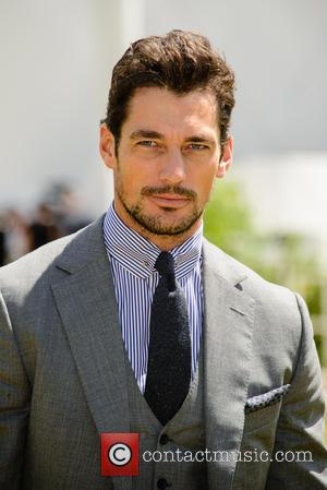 David Gandy - Burberry Prorsum Menswear SS15 arrivals held at Kensington Gardens - London, United Kingdom - Monday 15th June...