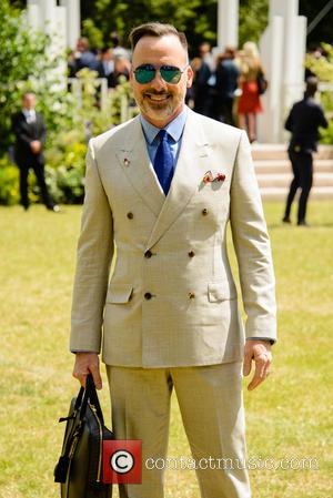 David Furnish - Burberry Prorsum Menswear SS15 arrivals held at Kensington Gardens - London, United Kingdom - Monday 15th June...