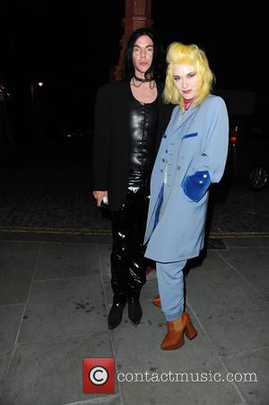 Pam Hogg - LCM S/S 2016: Another Man - 10th anniversary party at No 5 Hertford Street Loulou's - London,...