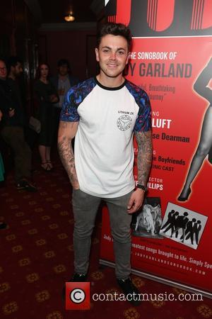 Ray Quinn - The Judy Garland press night and post show - Arrivals - London, United Kingdom - Tuesday 16th...
