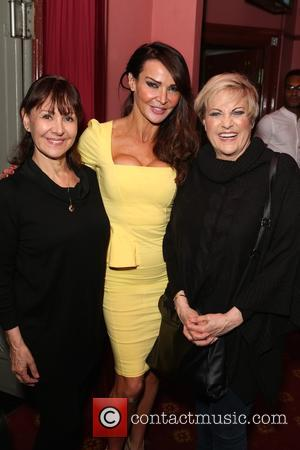 Arlene Phillips, Lizzie Cundy and Lorna Luft - The Judy Garland press night and post show - Arrivals - London,...