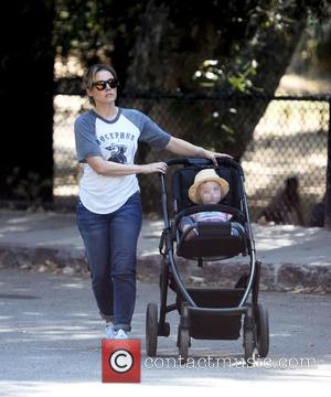 Kristen Bell and Delta Bell - Kristen Bell takes a stroll through Griffith Park in Los Angeles with her daughters...