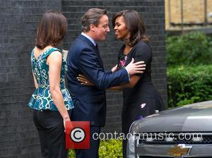 Michelle Obama, David Cameron and Samantha Cameron