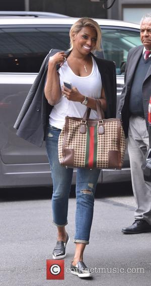 NeNe Leakes - NeNe Leakes arriving at her hotel in New York City - Manhattan, New York, United States -...