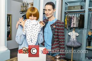 Erin O'connor and Mary Portas