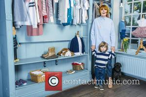 Mary Portas - Famous faces donate children's clothes in aid of Save the Children's 'Fashion Saves Lives' Sale hosted by...