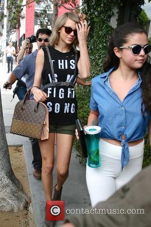 Taylor Swift and Selena Gomez