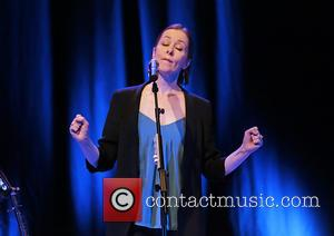 Suzanne Vega - Suzanne Vega performing at Liverpool Philharmonic Hall at Liverpool Philharmonic Hall - Liverpool, United Kingdom - Tuesday...